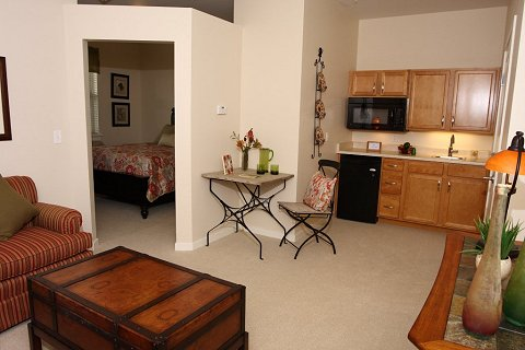 Floor plans at mountain plaza mountain plaza assisted for Living in a model apartment